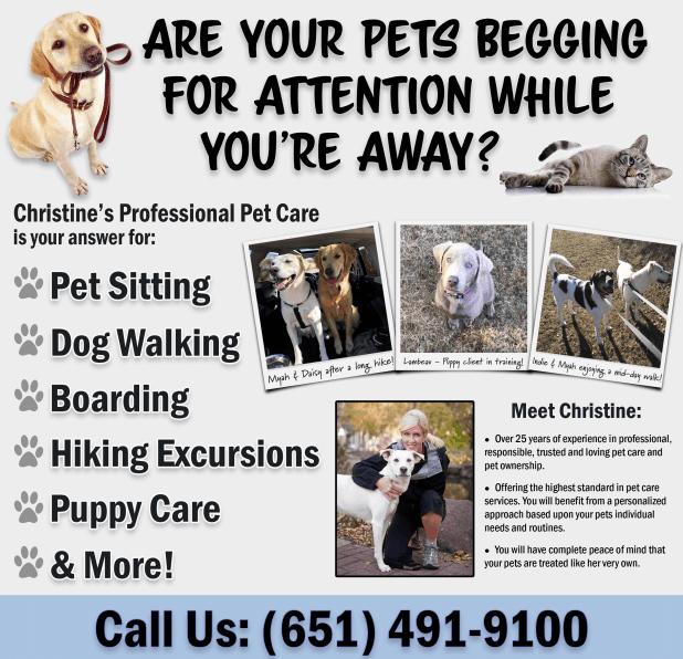 Chrstines Professional Pet Care LLC Lake Elmo