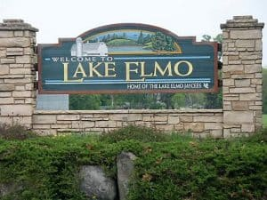 Lake Elmo, MN, Town Sign